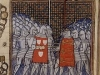 Capture of Geoffrey de Charney by the English at Calais, 1349