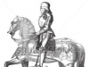 French Knight and Horse in armor