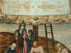 Burial of Jesus showing the Shroud
