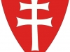 Knights Templar Double Cross Shield