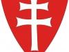 Knights Templar Double Cross Shield